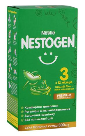 Nestogen 3 Суха молочна суміш з 12 місяців 300 г 1 коробка