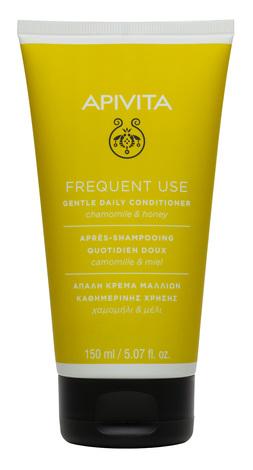 Apivita Кондиціонер делікатний для щоденного застосування для всіх типів волосся з ромашкою та медом 150 мл 1 туба