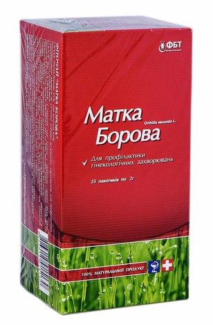 Фіточай Матка Борова 2 г 25 фільтр-пакетів