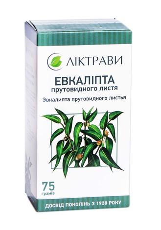 Ліктрави Евкаліпту листя 75 г 1 пачка