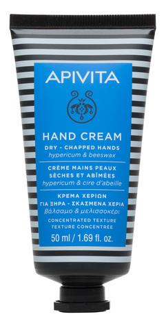 Apivita Крем для сухої потрісканої шкіри рук зі звіробоєм і бджолиним воском 50 мл 1 туба