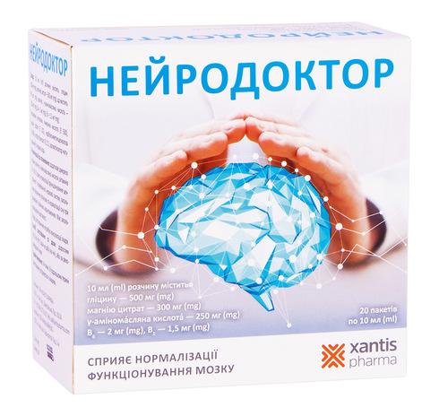 Нейродоктор розчин оральний 15 мл 20 пакетів