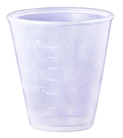 Гемопласт Стаканчик пластиковий для прийому ліків 1 шт