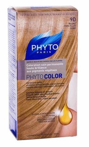 Phyto Phytocolor Крем-фарба 9D золотистий блондин 100 мл 1 комплект