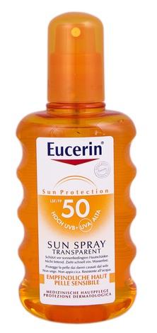 Eucerin Sun Protection Спрей сонцезахисний прозорий SPF-50 200 мл 1 флакон