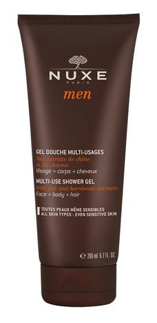 Nuxe Men Гель очищуючий для обличчя, тіла та волосся 200 мл 1 туба