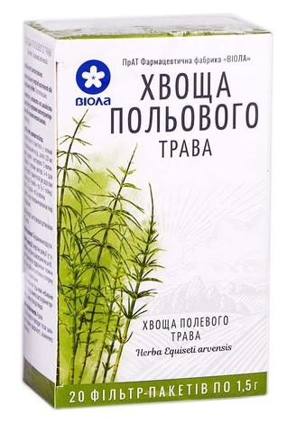 Віола Хвоща польового трава 1,5 г 20 фільтр-пакетів