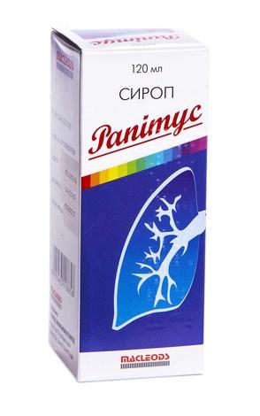 Рапітус сироп 30 мг/5 мл  120 мл 1 флакон