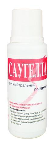 Саугелла Поліджин Мило рідке для інтимної гігієни з екстрактом ромашки 250 мл 1 флакон