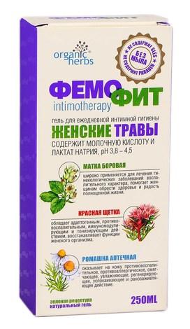 Фемофіт Гель для інтимної гігієни гель 250 мл 1 флакон