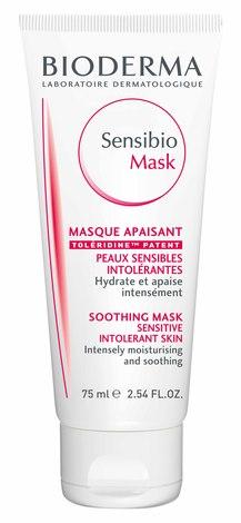 Bioderma Sensibio Mask Маска, що заспокоює для чутливої шкіри 75 мл 1 туба