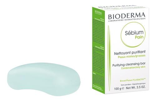 Bioderma Sebium Pain Мило для комбінованої та жирної шкіри 100 г 1 шт