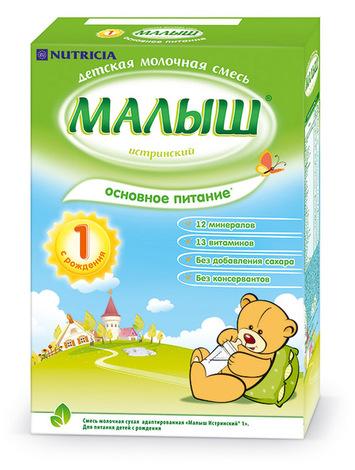 Малиш Істринський 1 Молочна суміш з народження 320 г 1 коробка