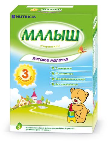 Малиш Істринський 3 Молочна суміш з 12 місяців 320 г 1 коробка