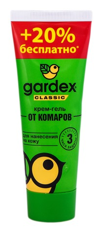 Gardex  Classic Крем-гель від комарів 60 мл 1 туба