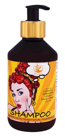 Arbor Vitae Шампунь для волосся з нафтою косметичною та додаванням лимону, яєць і дріжджів 300 мл 1 флакон