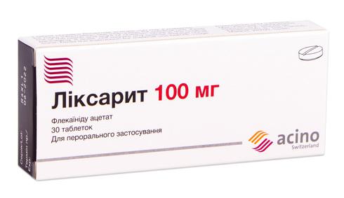 Ліксарит таблетки 100 мг 30 шт