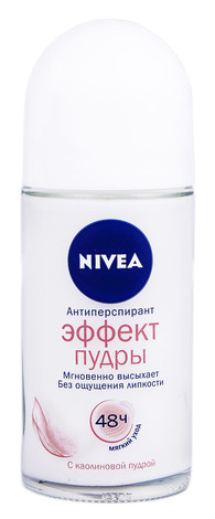 Nivea Дезодорант-антиперспірант Ефект пудри 50 мл 1 флакон