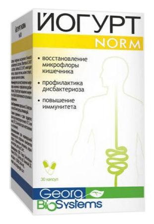 Йогурт Norm капсули 30 шт