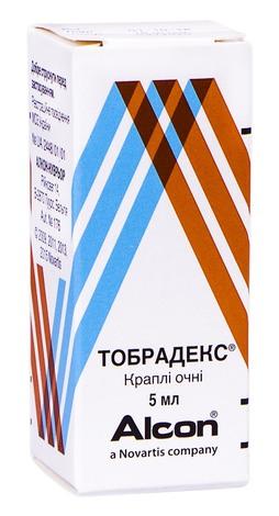 Тобрадекс краплі очні 5 мл 1 флакон