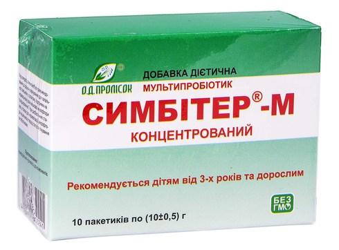 Симбітер-М концентрований порошок 10 пакетів