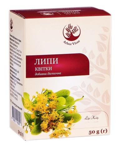 Arbor Vitae Липи квітки 50 г 1 пачка