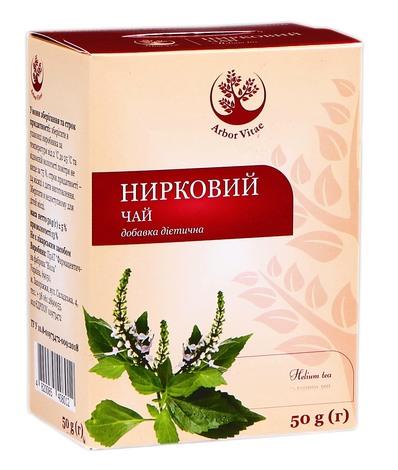 Arbor Vitae Нирковий чай листя 50 г 1 пачка