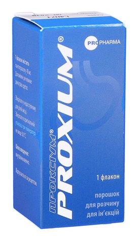 Проксіум порошок для ін'єкцій 40 мг 1 флакон