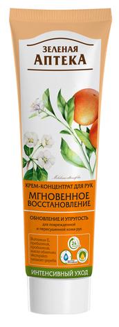 Зелена Аптека Крем-концентрат для рук Миттєве відновлення 100 мл 1 туба