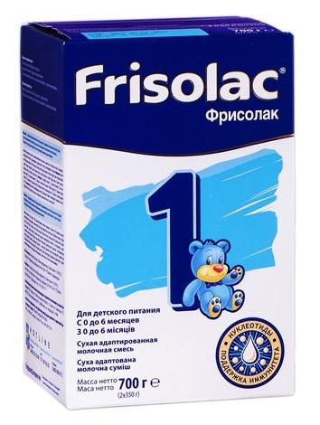 Friso 1 Фрісолак Суміш молочна з 0 до 6 місяців 700 г 1 коробка