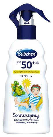 Bubchen Sensitive Спрей сонцезахисний SPF-50+ 200 мл 1 флакон