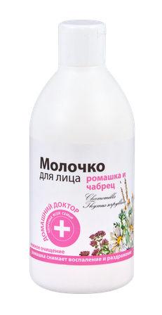 Домашній Доктор Молочко для обличчя Ромашка і чебрець 300 мл 1 флакон