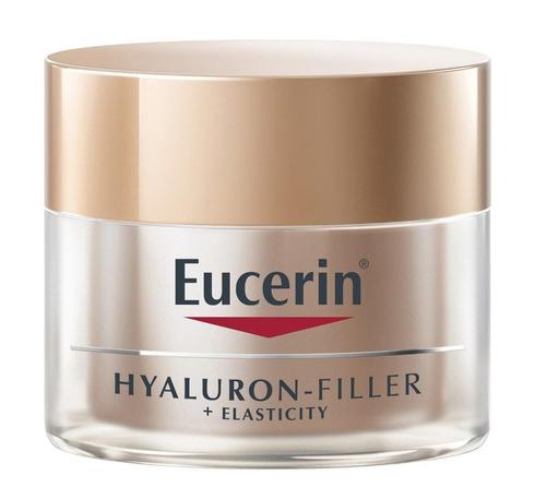 Eucerin Hyaluron-Filler + Еластісіті Крем нічний антивіковий для шкіри обличчя 50 мл 1 банка