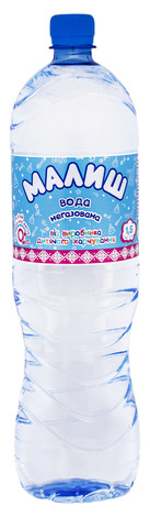 Малиш Вода дитяча негазована 1,5 л 1 пляшка