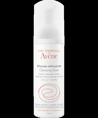Avene Мус очищувальний для нормальної і комбінованої чутливої шкіри 150 мл 1 флакон