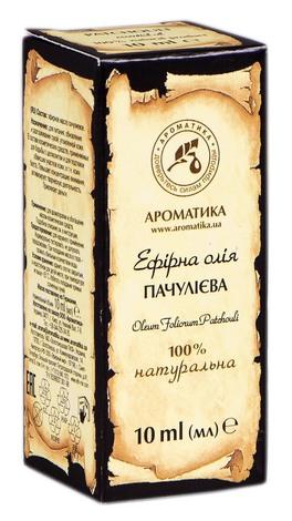 Ароматика Олія ефірна пачулієва 10 мл 1 флакон