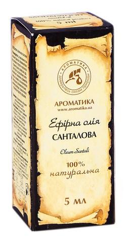 Ароматика Олія ефірна санталова 5 мл 1 флакон
