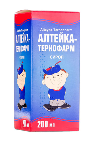 Алтейка Тернофарм сироп 200 мл 1 флакон