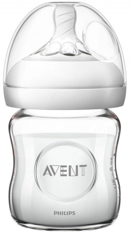 Philips Avent Natural Пляшечка для годування скляна від 0 місяців SCF671/17 120 мл 1 шт
