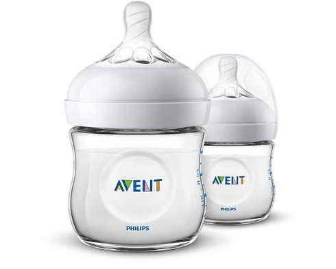 Avent Philips Natural Пляшечка для годування з народження SCF030/27 125 мл 2 шт