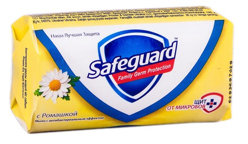 Safeguard Мило з антибактеріальним ефектом Ромашка 90 г 1 шт