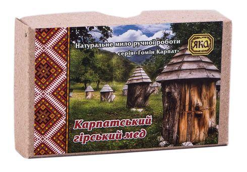 Яка Мило ручної роботи Карпатський мед 75 г 1 шт