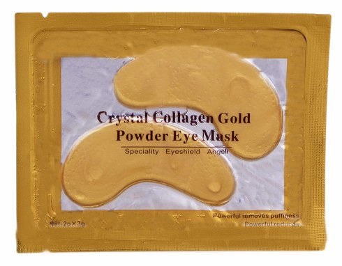 Патчі від зморшок під очі з колагеном та біо-золотом 6 г 1 пакет