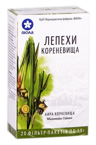 Віола Лепехи кореневища 1,5 г 20 фільтр-пакетів