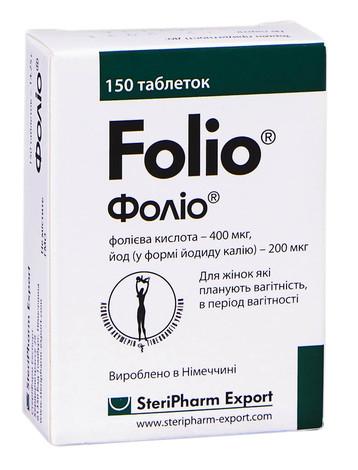 Фоліо таблетки 150 шт