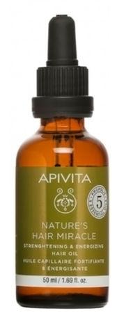 Apivita Олія натуральна для укріплення і оздоровлення волосся 50 мл 1 флакон