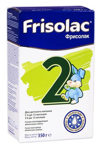 Friso 2 Фрісолак Суміш молочна з 6 до 12 місяців 350 г 1 коробка