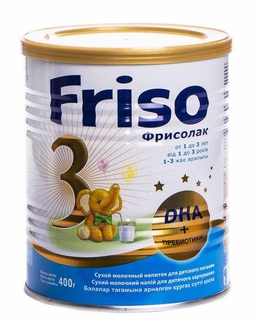 Friso 3 Фрісолак Gold Суміш молочна від 12 до 18 місяців 400 г 1 банка