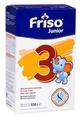 Friso 3 Junior Молочко дитяче від 1 до 3 років 350 г 1 коробка