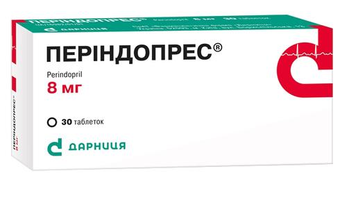 Періндопрес таблетки 8 мг 30 шт